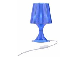 Lampa Smart niebieski transparent