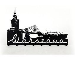 Wieszak do przedpokoju Warszawa - Czarny