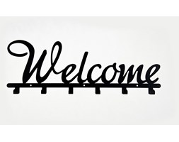 Wieszak do przedpokoju Welcome - Biały