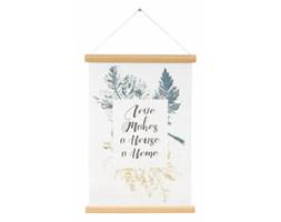 Plakat Canvas Love Makes a Home