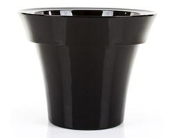 Donica MISIA 60/48 cm - czarny lakierowany