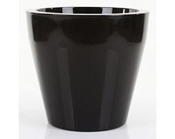 Donica NISCAL 37/34 cm - czarny lakierowany
