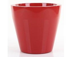 Donica NISCAL 37/34 cm - czerwony lakierowany