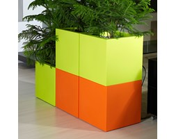 KUBE 40x40/40 - zieleń wiosenna / acid green