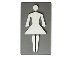 Oznaczenie WC damskie