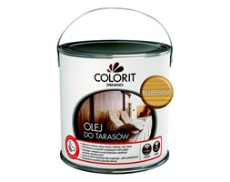 Olej do tarasów Colorit