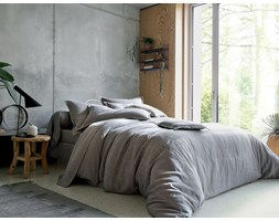 Komplet pościeli żakardowej Blanc Des Vosges Delhi Granit
