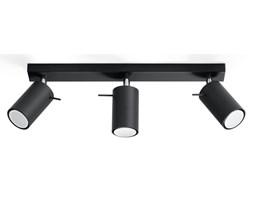 Lampa sufitowa Sollux Lighting Ring czarny SL.0093