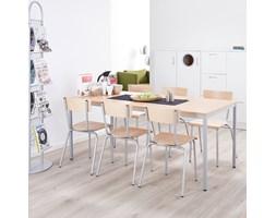 Stół do jadalni JAMIE, 1200x800 mm, laminat, buk, szary