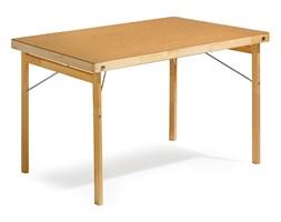 Stół AMBER, składany, 1200x800x740 mm, płyta utwardzana, drewno
