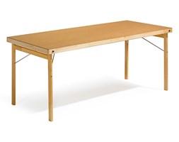 Stół AMBER, składany, 1800x800x740 mm, płyta utwardzana, drewno