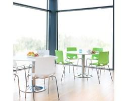 Krzesło do stołówki JUNO, biały
