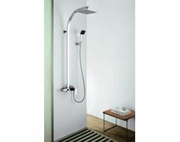 Zestaw Prysznicowy Natynkowy Z Deszczownicą Bateria Prysznicowa