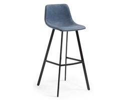 Hoker / Krzesło barowe ANDREWS ciemnoniebieski