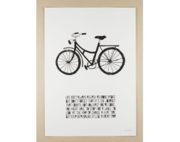 Plakat A3 Life Poster Bike