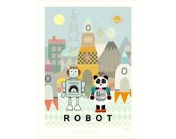 Plakat Robot - Majvillan