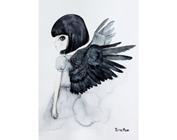 Plakat Raven - To The Moon