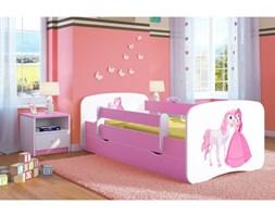 Łóżko BABY DREAMS księżniczka i konik 180x80