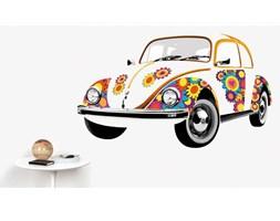 VW Naklejka ścienna Beetle Flower  - DECOSALON - 100% zadowolonych klientów!