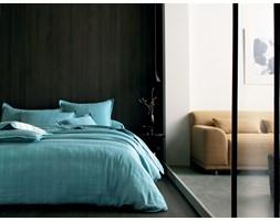 Komplet pościeli żakardowej Blanc Des Vosges Delhi Turquoise