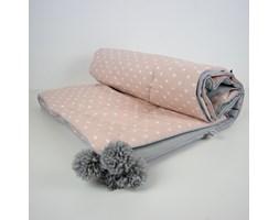 Narzuta na łóżko- brzoskwiniowe sny