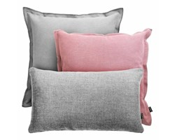 Różowo-szary zestaw poduszek Loft + Brera