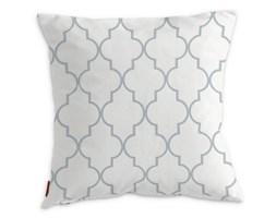 Dekoria Poszewka Kinga na poduszkę, szaro-białe wzory marokańskie, 43 × 43 cm, Comics