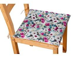 Dekoria Siedzisko Karol na krzesło, kolorowe kwiaty z przewagą niebieskiego, 40 × 40 × 3,5 cm, Monet