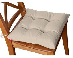 Dekoria Siedzisko Jacek na krzesło, beżowy szenil, 38 × 38 × 8 cm, Etna
