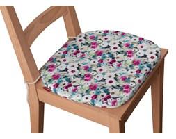 Dekoria Siedzisko Bartek na krzesło, kolorowe kwiaty z przewagą niebieskiego, 40 × 37 × 2,5 cm, Monet