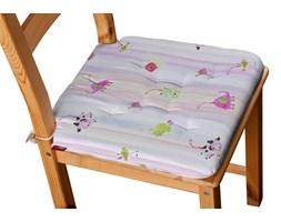 Dekoria Siedzisko Olek na krzesło, kolorowe zwierzątka na tęczowym tle, 42 × 41 × 3,5 cm, Apanona do -50%