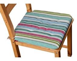 Dekoria Siedzisko Olek na krzesło, kolorowe pasy z przewagą niebieskiego, 42 × 41 × 3,5 cm, Monet