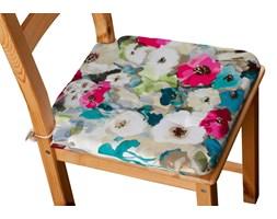 Dekoria Siedzisko Olek na krzesło, kolorowe kwiaty z przewagą niebieskiego, 42 × 41 × 3,5 cm, Monet