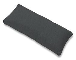 Dekoria Poszewka na poduszkę Karlstad 67x30cm, grafitowy szenil, 67 x 30 cm, Chenille