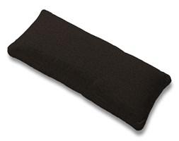 Dekoria Poszewka na poduszkę Karlstad 67x30cm, czarny z brązowymi nitkami, poduszka Karlstad 67 × 30 cm, Madrid