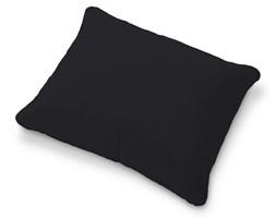 Dekoria Poszewka na poduszkę Karlstad 58x48cm, czarny, poduszka Karlstad 58 × 48 cm, Etna