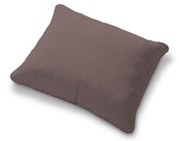 Dekoria Poszewka na poduszkę Karlstad 58x48cm, brązowo z odcieniem fioletu, poduszka Karlstad 58 × 48 cm, Living