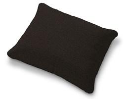 Dekoria Poszewka na poduszkę Karlstad 58x48cm, czarny z brązowymi nitkami, poduszka Karlstad 58 × 48 cm, Madrid