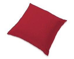 Dekoria Poszewka Tomelilla 55x55cm, czerwony szenil, 55 × 55 cm, Chenille