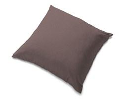 Dekoria Poszewka Tomelilla 55x55cm, brązowo z odcieniem fioletu, 55 × 55 cm, Living