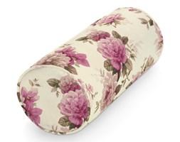 Dekoria Pokrowiec na wałek Ektorp, różowo-beżowe róże na kremowym tle, 15x35cm, Mirella
