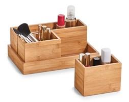 Pojemniki do przechowywania, organizery, 100% bambus - 4 elementy w komplecie, ZELLER