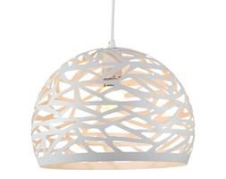 MCODO ::  Ażurowa lampa wisząca CUTLIGHT 35cm w kolorze białym Nowość