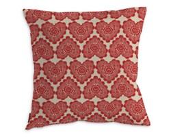 Dekoria Poszewka Kinga na poduszkę, koronkowe serca, 43 × 43 cm, Comics