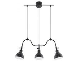 MARE 3 lampa wisząca typu belka 3 x 60W E27 VINTAGE , DESIGN, METALOWA, CZARNA SOLLUX LIGHTING SL.0309