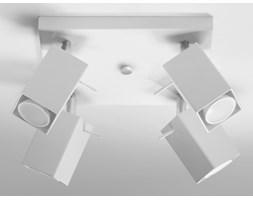 MERIDA plafon reflektorowy 4 x 40W GU10 kwadratowy metalowy biały SOLLUX LIGHTING SL.0098