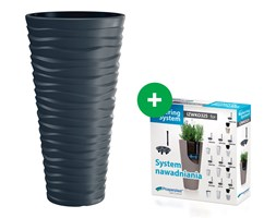 Doniczka Sand Slim DPSA350 Efekt 3D +wkład +system