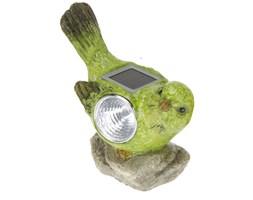 Lampa solarna ptak figurka kamienna Wzór III