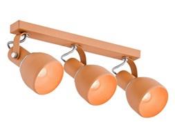 FOGO listwa 3 x 60W E27 sufitowa metalowa trzypłomienna pomarańczowa nowoczesna ARGON 1295