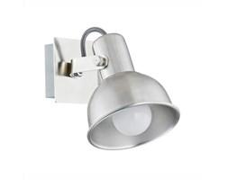 NIL kinkiet 1 x 40W E14 reflektor ścienny sufitowy metalowy srebrny nowoczesny ARGON 3637